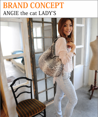BRAND CONCEPT ANGIE the cat LADY'S