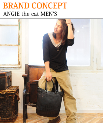BRAND CONCEPT ANGIE the cat MEN'S